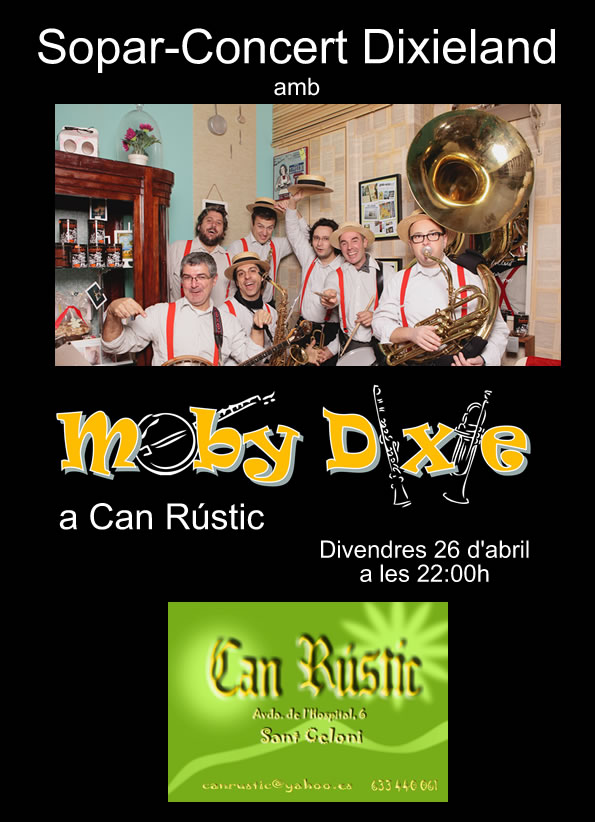 Moby Dixie Can Rústic
