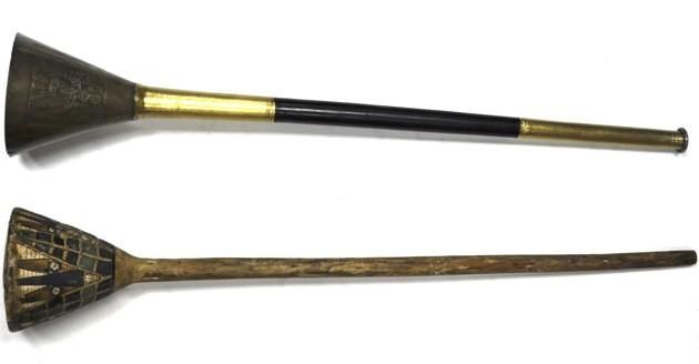 Ilustración 2. Las trompetas de Tutankamon
