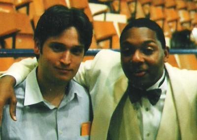 Amb el grandíssim Wynton Marsalis a Vitoria (1999)