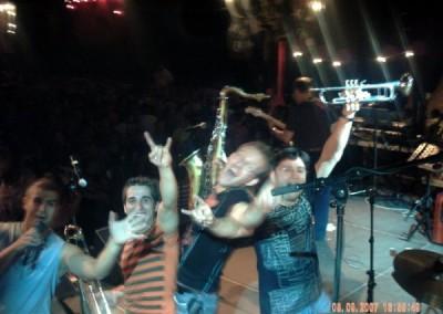 Amb Santi Arisa i La Tribu a Viella (2007)