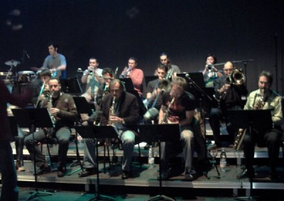 Amb Santi Arisa Big Band al Kursaal de Manresa (2007)