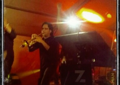 Amb Taxman Band Orquestra a La Zarza (Badajoz) (2013)