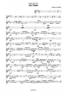 Chet Baker Just Friends Trumpet Solo