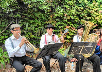 Dixthree - jazz dixieland trio