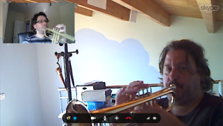 Clases de trompeta por internet