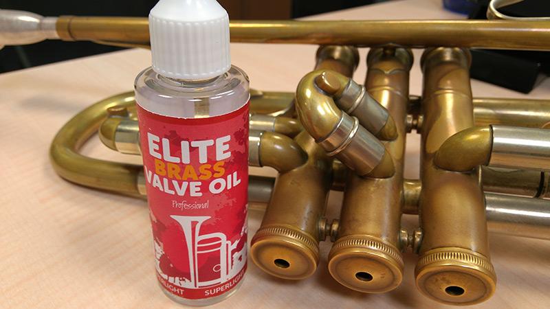 Nuevo aceite para pistones 'Elite Brass Valve Oil'