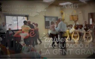 L'Orquestrina Franquesina a L'Ametlla del Vallès el 23-09-2017