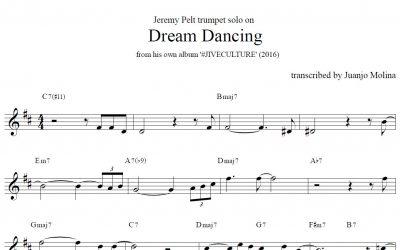 Dream Dancing – Jeremy Pelt trumpet solo transcription