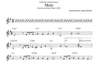 More – Clark Terry trumpet solo transcription